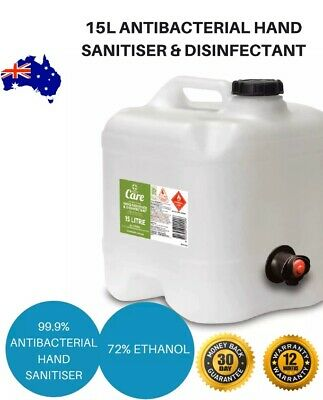 15 Litre 72% Ethanol Alcohol Hand San , Next Day In Sydney
