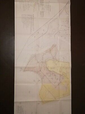 USSR rare, genuine, old geological survey map of the 1990