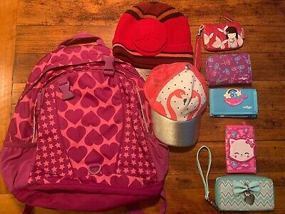 Girls Wallets, Backpack And Hats