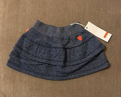Name It Baby Girls Glitter Knit Skirt Size 6-9 Months