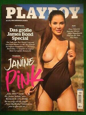 Playboy 04/2020 Janine Promi Big Brother Pink James-Bond neu