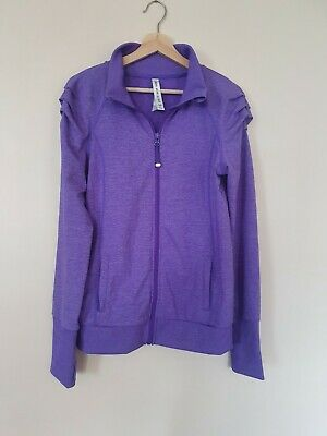 Lorna Jane Excel Jacket L - RRP $139.95 (Large) Purple FLAWLESS CONDITION
