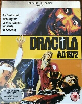 Dracula AD 1972 (Premium Collection) Blu Ray and DVD