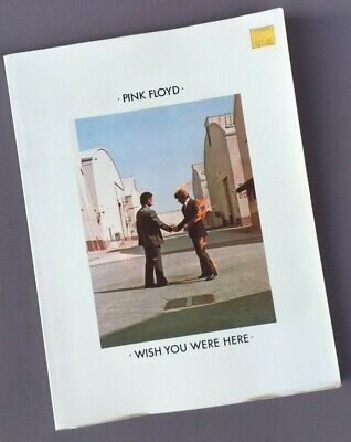 Vintage PINK FLOYD Music BOOK For Guitar, WISH YOU WERE HERE - Sheet, Photos