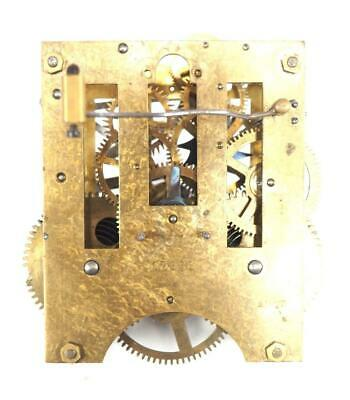 Mantel Clock Movement German Spring Driven Striking Movement