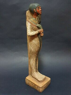 Rare ANCIENT EGYPTIAN ANTIQUES God Ptah Statue With HIEROGLYPHICS Stone BC