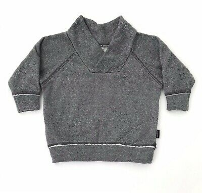 GUC BONDS baby Boys Jumper Size 000 Sweater Top 0-3 Months Grey