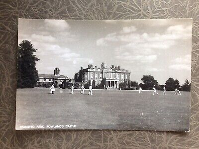 Rppc Cricket Match Stansted Park Nr Portsmouth Waterlooville  Havant