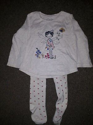 Girls age 12-18 months top & tights NEXT