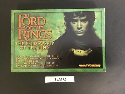 Warhammer Lord of the Rings, Games Workshop, Fellowship of the Ring box set BNIB