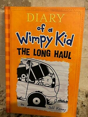 Diary Of A Wimpy Kid- The Long Haul - Like New
