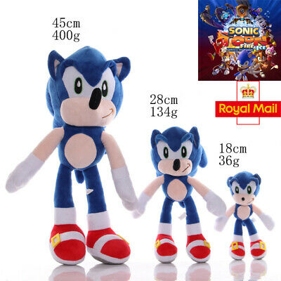 """19"""" Official Sonic The Hedgehog Sonic Large Plush Soft Toy Teddy New With  Tags"""