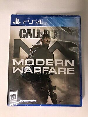 Call of Duty Modern Warfare ( Sony PlayStation 4 2019)  Brand New Factory Sealed