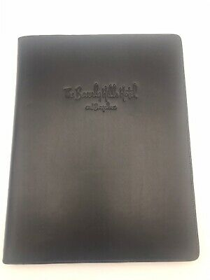 Beverly Hills Hotel And Bungalows Debossed Leather Notebook With Logoed Gel Pen