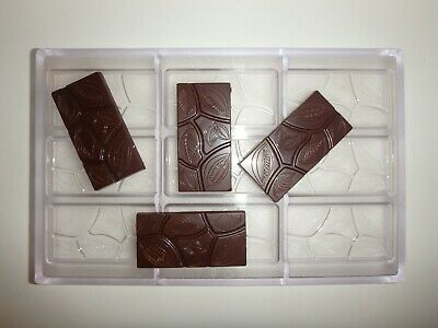 NEU 2020! SCHOKOLADENFORM 3x4 18 GR.TAFEL NEW POLYCARBONATE chocolate mold # 587