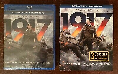 1917 (Blu-ray + DVD + Digital; 2020) NEW w/ Slipcover