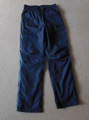 Boys, Gap, Navy/Grey Tracksuit Bottoms, Fully Lined, Size: XL, Age 12-13 Yrs, BN