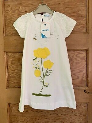 Mayoral Girls Summer Dress Age 6 **Brand New With Tags**