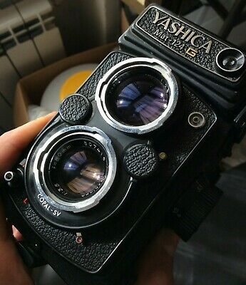 Vintage Camera Yashica 124 Mat G   **Best Condition* *Look Photos**