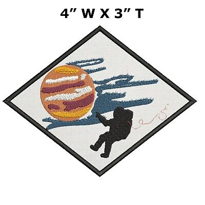 Sew-On Applique Peace NASA Astronaut Yin Yang Symbol Embroidered Patch Iron-On