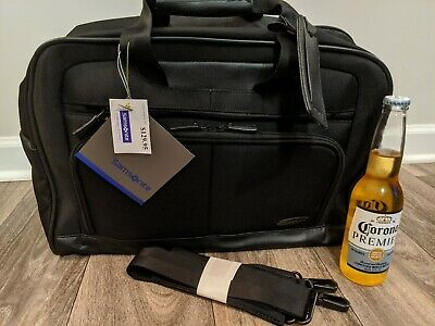 """NWT SAMSONITE Carry On Overnight Weekend Bag Under Seat Luggage Duffle 17""""x13""""x7"""