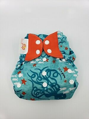 Bumgenius One Size OS Cloth Diaper Flip Cover  Limited Edition Jules