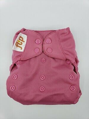 Bumgenius One Size OS Cloth Diaper Flip Cover - Zinnia Pink