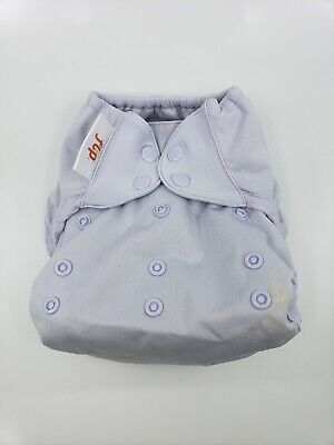 Bumgenius One Size OS Cloth Diaper Flip Cover -Bubble - Light purple