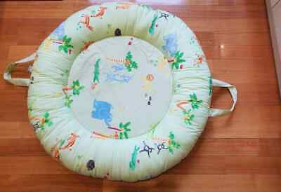 Large Treehouse Children's Decor Co donut prop up cushion for babies - rrp $150