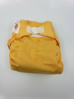 Bumgenius One Size OS Cloth Diaper Flip velcro cover - Clementine Yellow