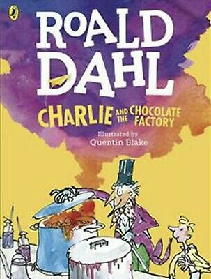 Charlie and the Chocolate Factory Classic by Roald Dahl Paperback Book
