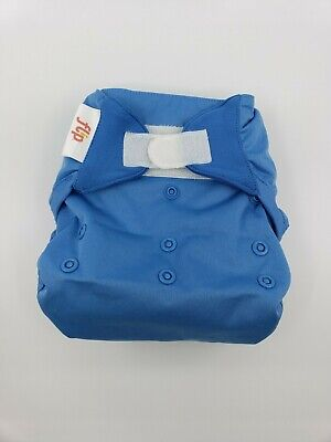 Bumgenius One Size OS Cloth Diaper Flip velcro cover - Moonbeam blue
