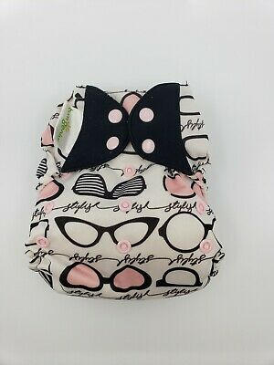Bumgenius One Size OS Cloth Diaper Freetime - Limited edition print Audrey