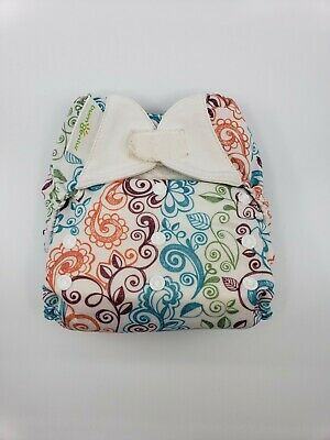 Bumgenius One Size OS Cloth Diaper Freetime velcro Limited edition Lovelace