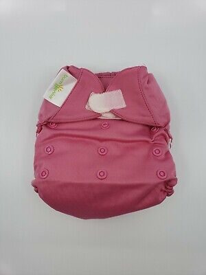Bumgenius One Size OS Cloth Diaper Freetime velcro - Zinna pink