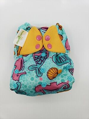 Bumgenius One Size OS Cloth Diaper 4.0 pocket - Limited edition print Marie