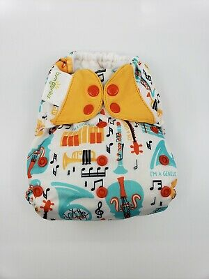 Bumgenius One Size OS Cloth Diaper 4.0 pocket - Limited edition print Louis