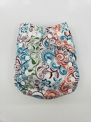 Bumgenius One Size OS Cloth Diaper 4.0 pocket - Limited edition print Lovelace