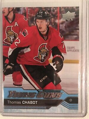2016-2017 16-17 UD Upper Deck Young Guns Thomas Chabot Rookie RC SP