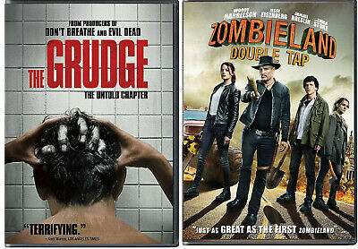 The Grudge & Zombieland Double Tap (2020)  Set of 2 Great Horror/Thrillers-VGC!