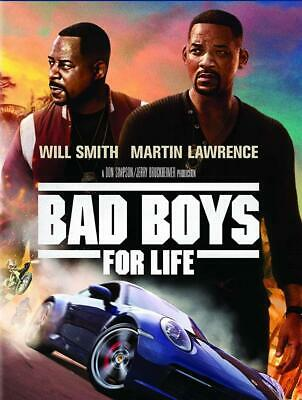 Bad Boys for Life (DVD 2020) Preorder for 4/21-Action/Crime/Thriller-Ships Free!