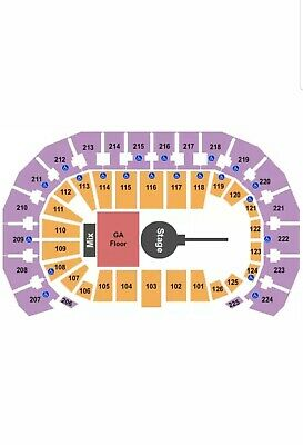 2 Tickets Foo Fighters 10/17/20 INTRUST Bank Arena Wichita, KS Sec 104 Row B