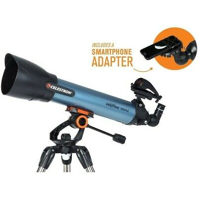 Celestron Inspire 100AZ Telescope 22403 - as new