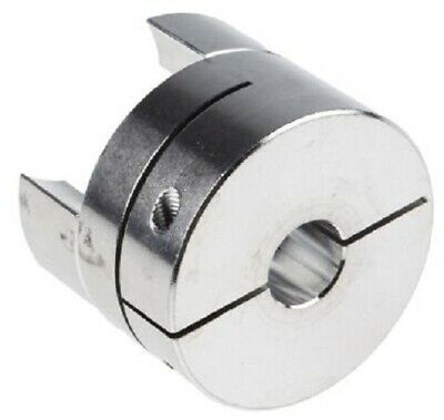 Ruland CURVED JAW COUPLING 80x57.2mm Aluminium, 16mm Bore, Clamp Fastening