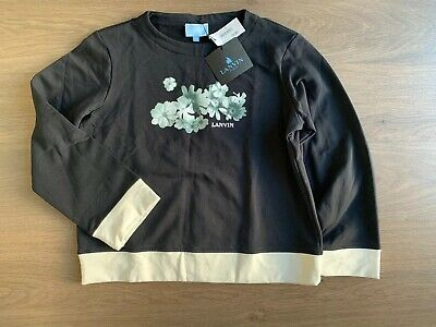New Lanvin Girls Pullover Jumper Size 9-10 Years