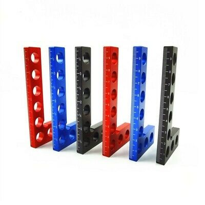 Aluminium Alloy Positioning Squares, Woodworking Tool, Clamping 90° Angles Ruler