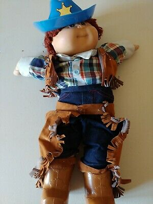 1984 Cabbage Patch Kids cowboy doll