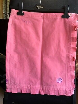 Girls Pink Tog 24 Wrap Over Style Skirt Age 13