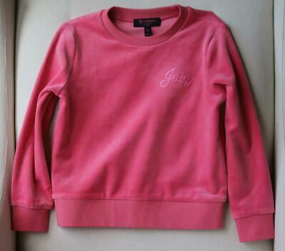 Juicy Couture Kids Girls Velour Tracksuit 4-5 Years