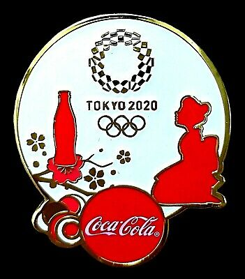 New Coke Doll  Tokyo 2020 Olympic Games Collector Pin Japanese Japan